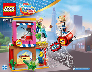 Harley Quinn To The Rescue 41231 Lego Dc Super Hero Girls