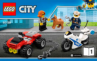 Mobile Command Center 60139 Lego City Police Building