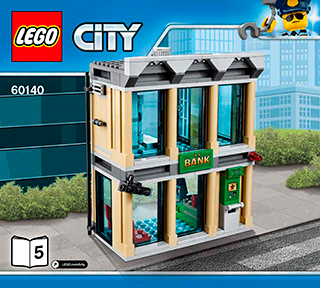 Bulldozer Break In 60140 Lego City Police Building Instructions