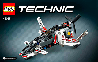 Ultralight Helicopter 42057 Lego Technic Building Instructions