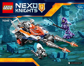 Lances Twin Jouster 70348 Lego Nexo Knights Building
