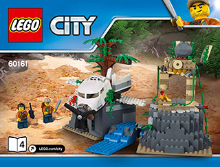 Jungle Exploration Site 60161 Lego City Jungle Explorers