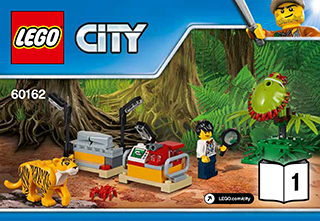 Lego City Jungle Explorers Building Instructions Lego Com