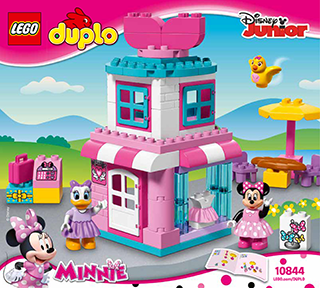 Minnie Mouse Bow Tique 10844 Lego Duplo Disney Tm Building