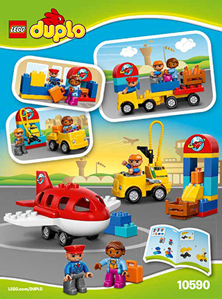 Airport 10590 Lego Duplo Town Building Instructions Lego