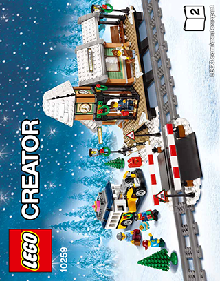 Winter Village Station 10259 Lego Creator Expert Building