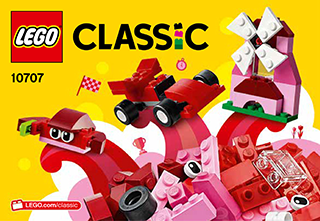 Red Creativity Box 10707 Lego Classic Building Instructions