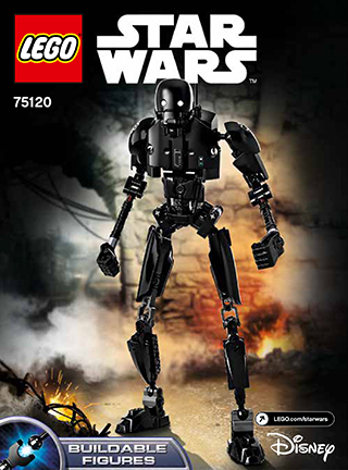 LEGO STAR WARS K-2SO Buildable Figure 75120