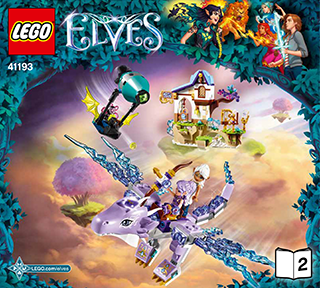 Aira & the Song of the Wind Dragon 41193 - LEGO Elves - Building