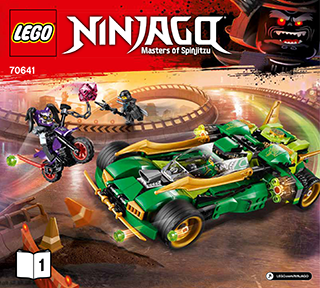 Ninja Nightcrawler 70641 Lego Ninjago Building Instructions
