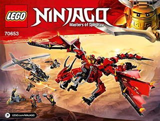 Firstbourne 70653 Lego Ninjago Building Instructions Legocom