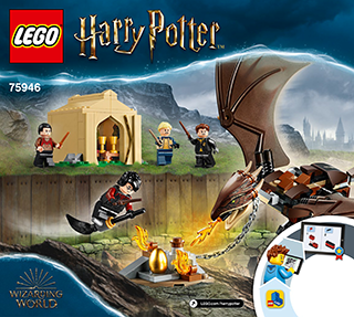 Lego 75946 Hungarian Horntail Triwizard Challenge, LEGO