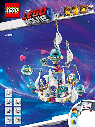 Queen Watevras So Not Evil Space Pala 70838 Lego Movie