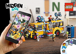 Lego hidden side bus tour