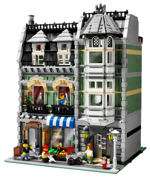 10182 10185 10190 NO PARTS! LEGO City Apartment BUILDING INSTRUCTIONS ONLY!