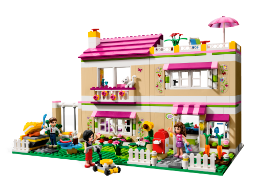 Olivia S House 3315 Lego Friends Building Instructions Customer Service Lego Com Us