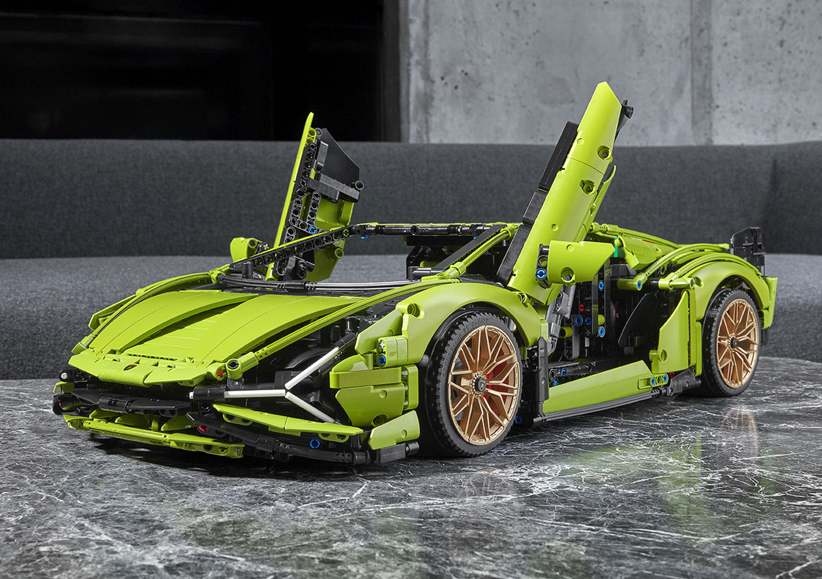 Lego Technic Lamborghini Model Car Lego Com Us