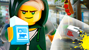 LEGO NINJAGO MOVIE games - Lloyd - Cole - Web Games