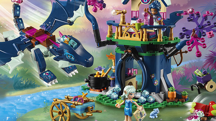 Check out Rosalyn's Healing Hideout form LEGO Elves