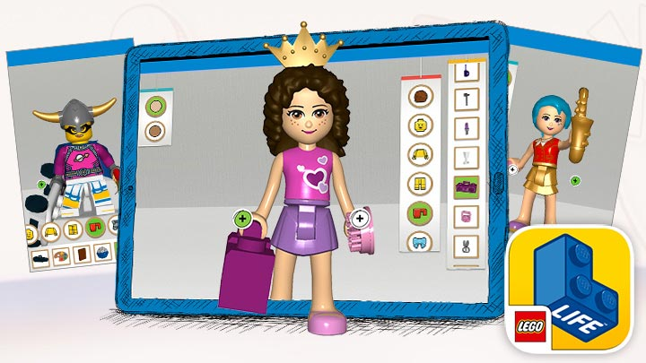 Make your very own LEGO Life avatar