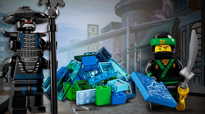 LEGO Minifigure Ninjago Movie challenge