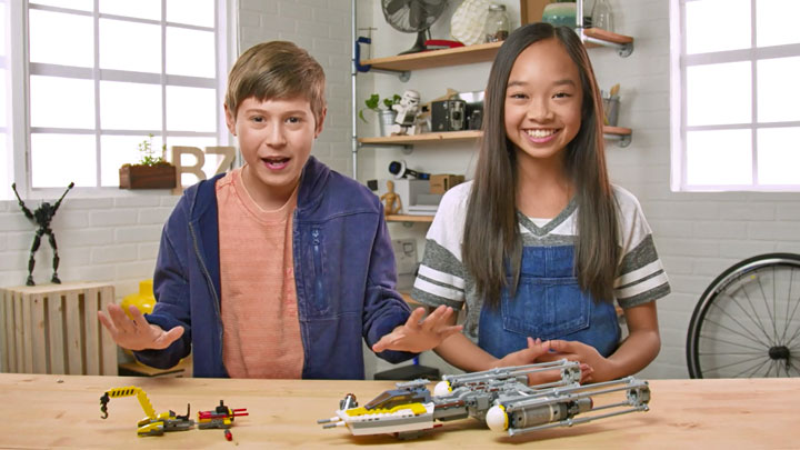 LEGO Star Wars Y-Wing Unboxing Video