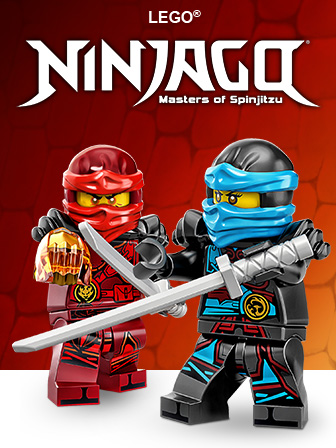 Check out the fun LEGO NINJAGO site!