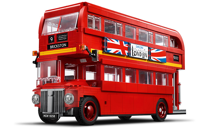 LEGO Creator Expert London Bus - Brickston