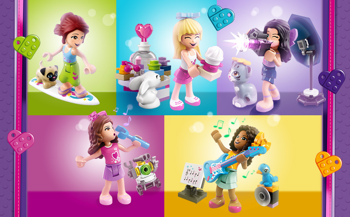 Discover LEGO® Friends products online