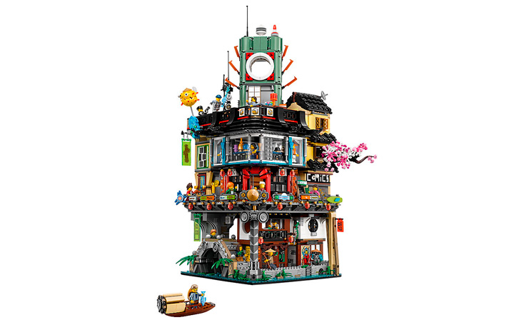 LEGO NINJAGO Movie City