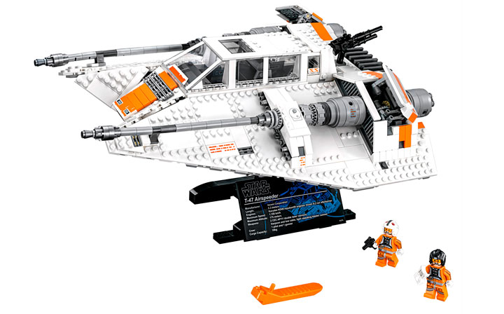 Check out the LEGO® Star Wars™ 75144 Snowspeeder™ set!