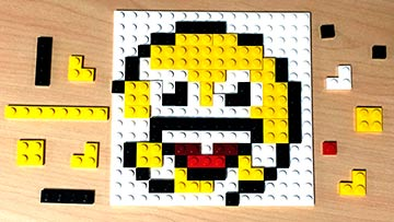 LEGO Life Emoji Day Emoticon Day Make a LEGO Emoji