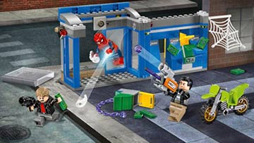 LEGO Marvel Spider-Man Homecoming ATM Heist