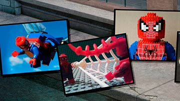 LEGO.com Spider-Man user generated gallery