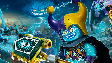 Visit the univers of LEGO NEXO KNIGHTS