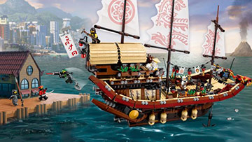 Destinys Bounty LEGO NINJAGO MOVIE Set