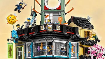 LEGO Ninjago Movie City Set