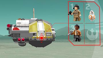 LEGO Star Wars 360 Experience