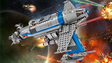 Check out the new LEGO Star Wars Resistence Bomber