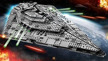 Check out the new LEGO Star Wars Star Destroyer