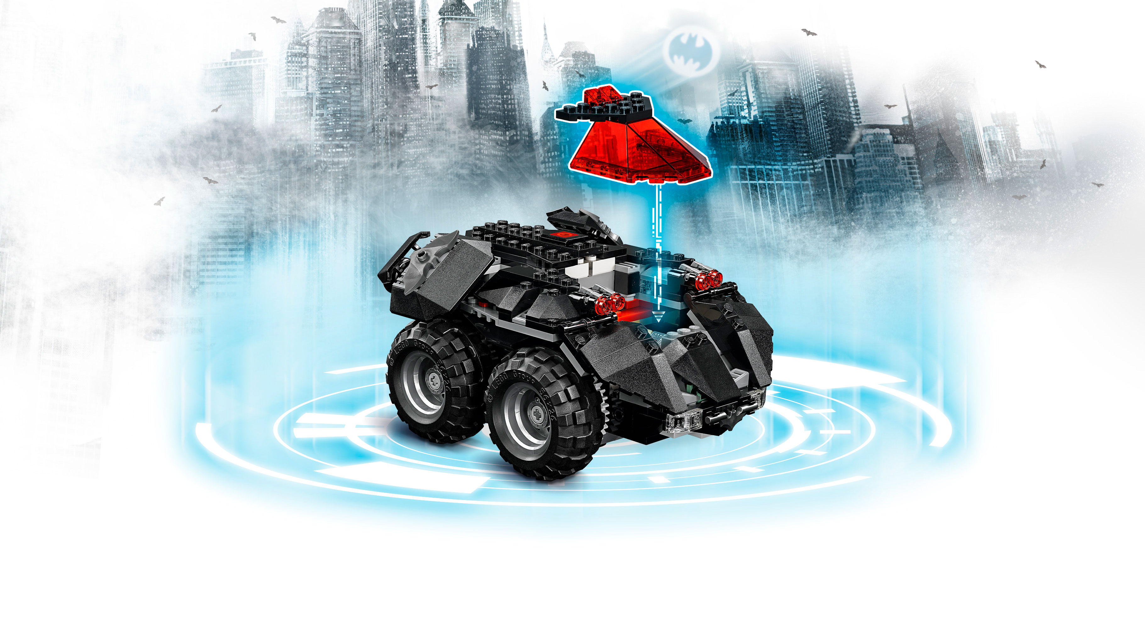 THE APP-CONTROLLED BATMOBILE IS FINALLY HERE! - LEGO com US