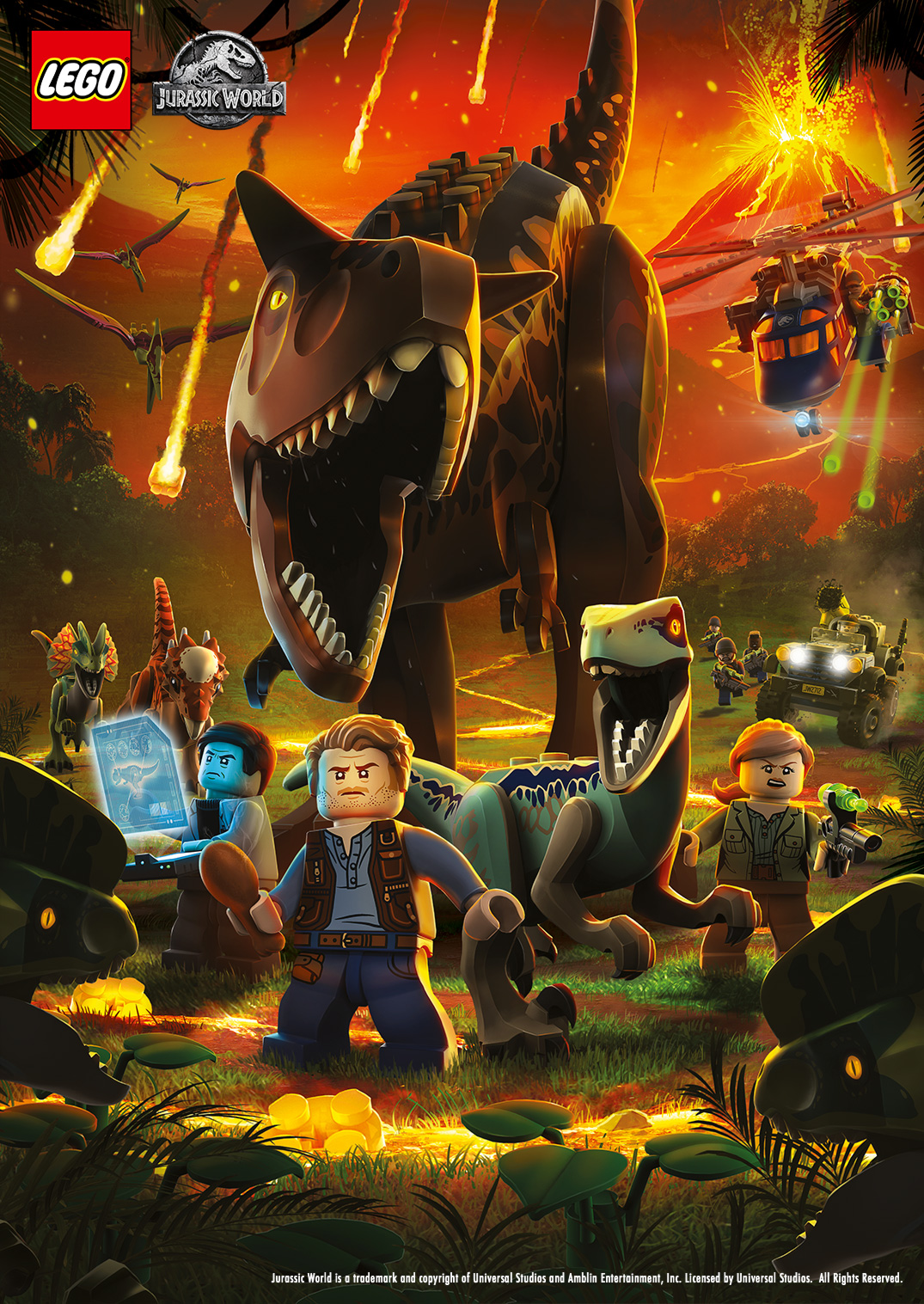 Inicio Lego Jurassic World