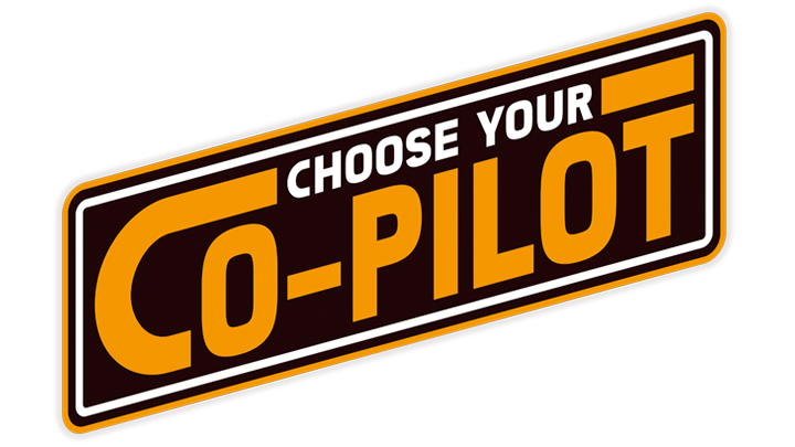 LEGO Star Wars Choose your Co-Pilot badge